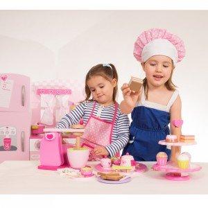 ظرف شیرینی چوبی Classic World مدل 4113 cupcake Stand