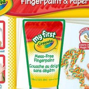 رنگ انگشتی crayola کد 1304