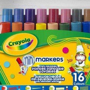 ماژیک قابل شست و شو 16 رنگ کودک crayola کد 8709
