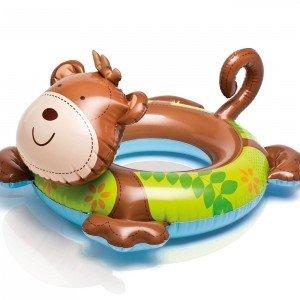 حلقه حیوانات کودک  intex  مدل میمون کد 58221