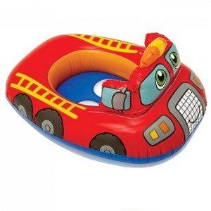 شناور شورتی کودک  intex مدل ماشین آتشنشانی کد 59586