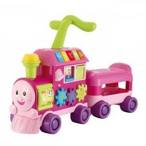 قطار نوزادی صورتی winfun 0803g
