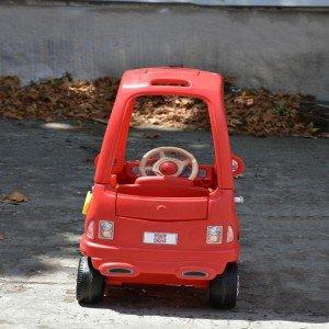ماشين پايی کوپه کودک قرمز  grown up كد 10162