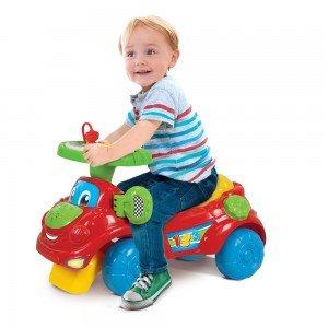 ماشین چهار چرخ Interactive Ride On clementoni کد 61636