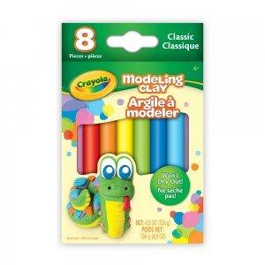 پاستل 8 عددی کودک modeling clay pastel crayola کد 0312