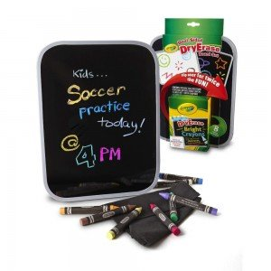 تخته دو طرفه کودک به همراه 8 پاستل قابل شست و شو crayola کد 8638