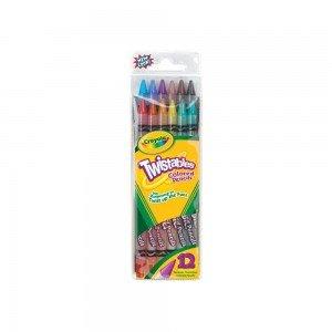مداد رنگی 12 رنگ کودک crayola کد 7508