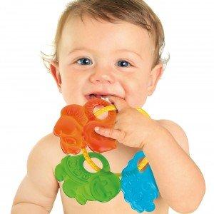 دندان گیر حیوانات Baby Clementoni مدل Teething Animals 17061
