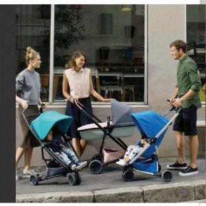 سبد حمل نوزاد  Quinny Zapp Lux Carrycot  Grey On Graphite