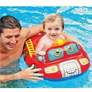 شناور شورتی کودک  intex  مدل ماشین امداد کد 59586