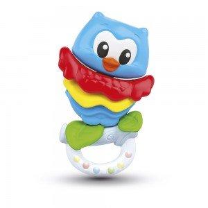 دندان گیر جغد Baby Clementoni مدل Sonaglino Gufetto 17160