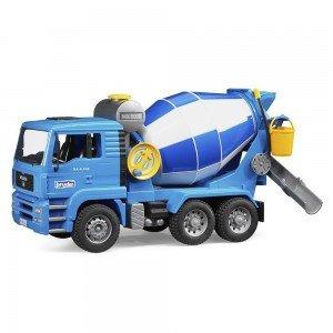 اسباب بازی میکسربتن کامیون مان bruder مدل MAN TGA Cement Mixer 03554
