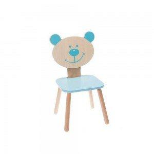 صندلی چوبی Classic World رنگ آبی مدل 4804