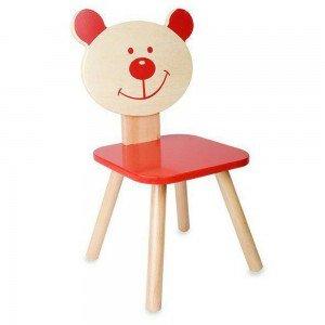 صندلی چوبی Classic World رنگ قرمز مدل 4802