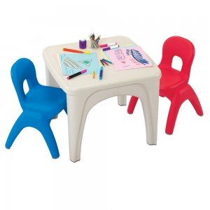 میز و صندلی دو نفره کودک مدل grow'n up 3020