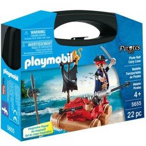 پلی موبيل مدل Pirate Raft Carry Case 5655