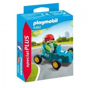 پلی موبيل مدل Boy with Go-Kart  5382