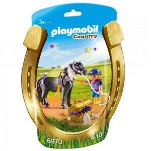 پلی موبيل مدل Groomer with Star Pony  6970