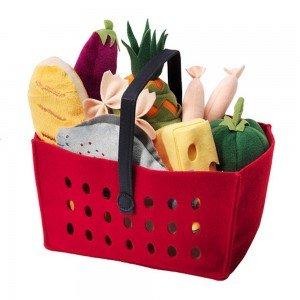 سبد سبزیجات 12 تکه 12-piece shopping basket set LÅTSAS IKEA