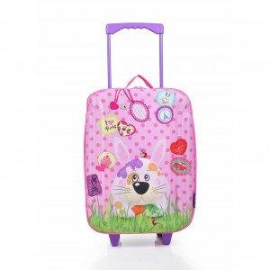 چمدان چرخدار بزرگ طرح خرگوش okiedog مدل 80163