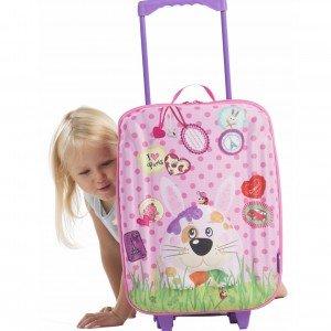 بهترین هدیه چمدان چرخدار بزرگ طرح خرگوش okiedog مدل 80163
