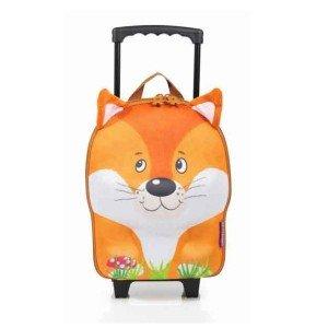 چمدان چرخدار کوچک روباه okiedog مدل 80079