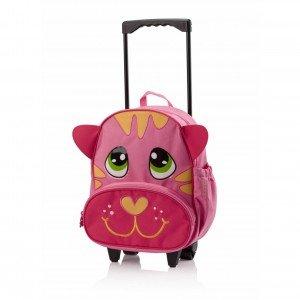 کیف چرخدار کودک طرح گربه okiedogكد 80064