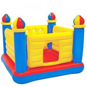 جامپینگ قلعه زرد آبی کودک Intex مدل 48259