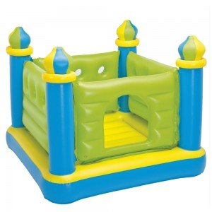 جامپینگ قلعه سبز آبی کودک Intex مدل 48257