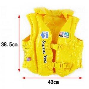 ابعاد جلیقه نجات کودک Intex مدل 58660