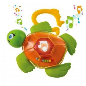 جغجغه لاک پشت Sonajero Musical Tortuga clementoni مدل 17069