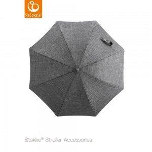 چتر کالسکه stokke xplory 2017 رنگ black melange