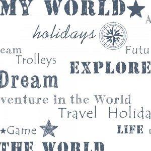 کاغذ دیواری انگلیسی اتاق کودک - فاولا  favola 3239
