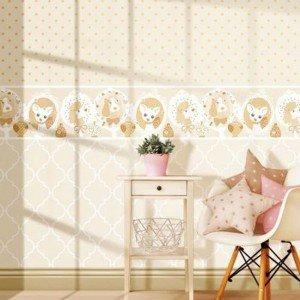 کاغذ دیواری انگلیسی اتاق کودک - فاولا  favola 3249