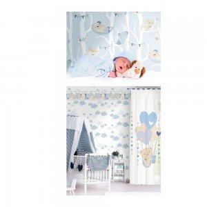 بوردر کاغذ دیواری اتاق کودک - favola 3291