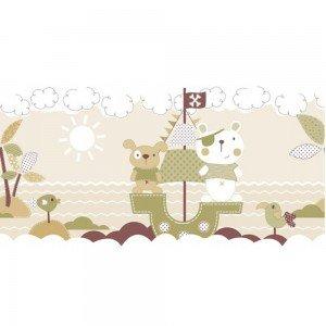 بوردر کاغذ دیواری اتاق کودک - favola 3297