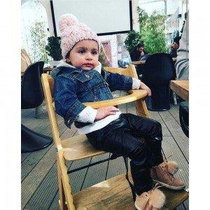 صندلی غذای چوبی کودک piccolo