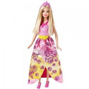 باربی با لباس گل صورتی کد cff25