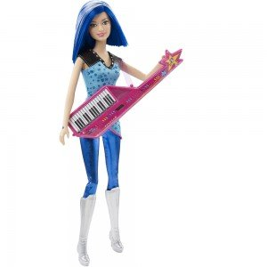 عروسک باربی مدل Rockin Royal