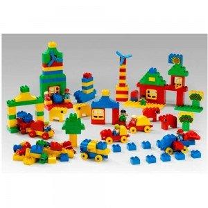 قطعات رنگی لگو آموزشی 223 قطعه ست شهر DUPLO Town Set lego 9230