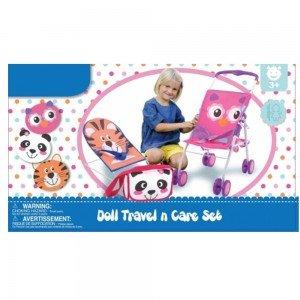 ست کالسکه کیف و صندلی عروسک hauck 94525