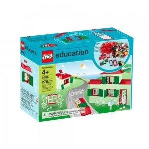 لگو سری education مدل Doors, Windows & Roof Set 9386