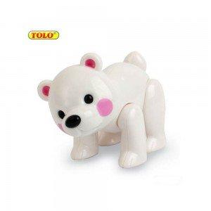 عروسک نشکن خرس قطبی tolo 87403