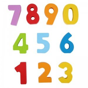اعداد رنگی چوبی hape مدل 0900