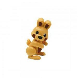 عروسک خرگوش قهوه ای نشکن  tolo 87428