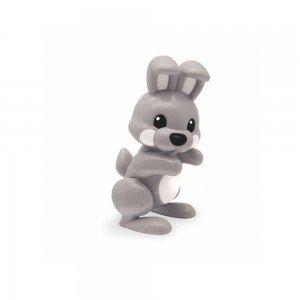 عروسک خرگوش طوسی نشکن  tolo 87427
