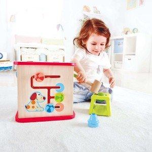 مکعب بازی چوبی hape  بهترین هدیه برای کودکان