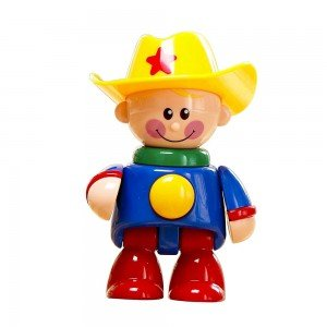 آدمک نشکن کابوی کلاه زرد tolo 89608