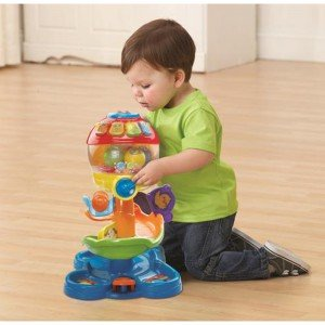 برج توپ موزیکال Pop And Roll Ball Tower vtech 181303