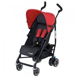 کالسکه Safety 1st Buggy Compa City Black and Red 12609450